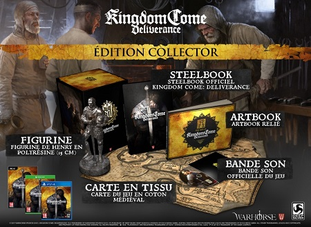 Kingdom Come Deliverance Edition collector | Jeu PC