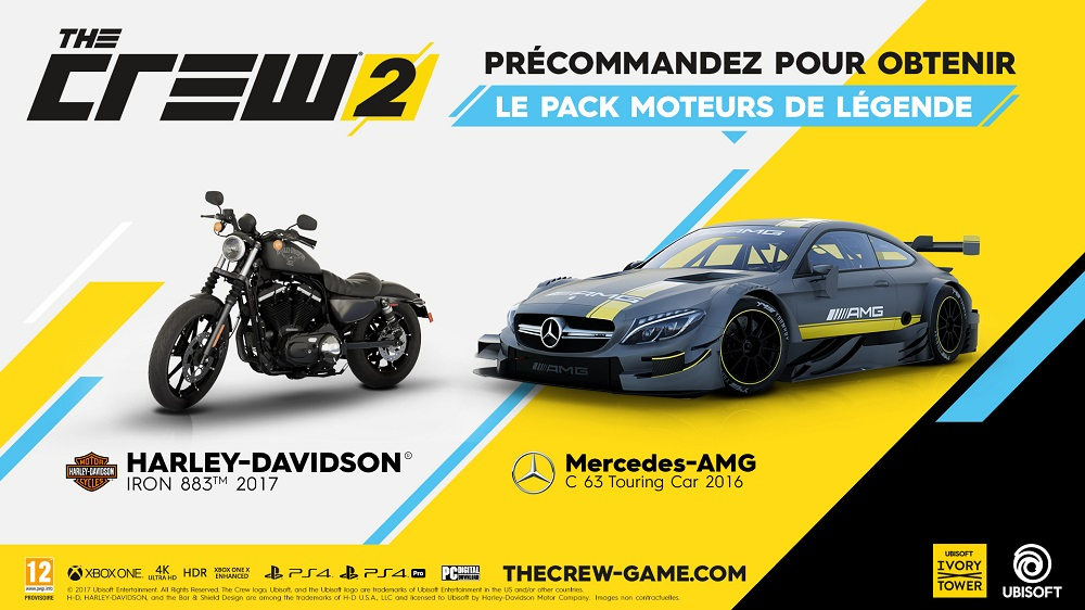 the crew 2 xbox one pas cher prix auchan. Black Bedroom Furniture Sets. Home Design Ideas