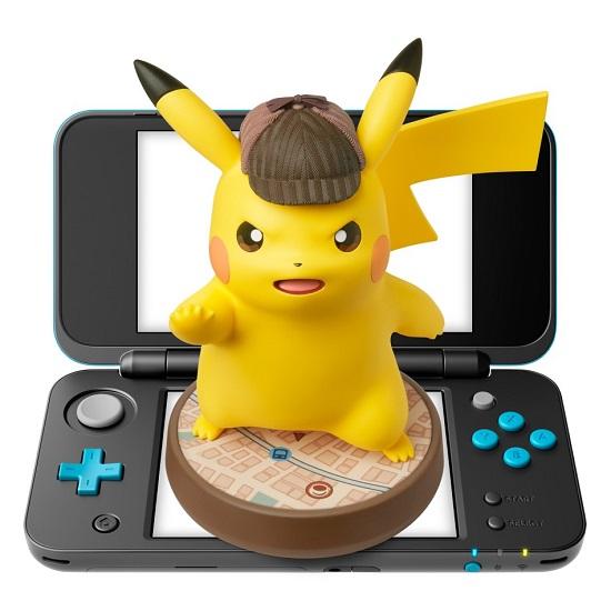 Amiibo Détective Pikachu | Nintendo 3ds