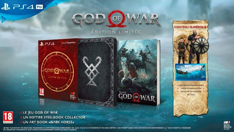 God of War Edition Limitée | Playstation 4