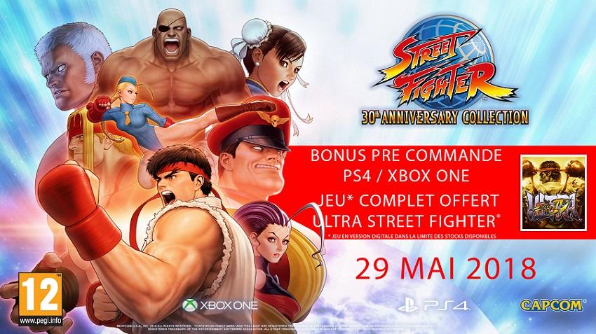 Bonus précommande Street Fighter   Jeux PS4
