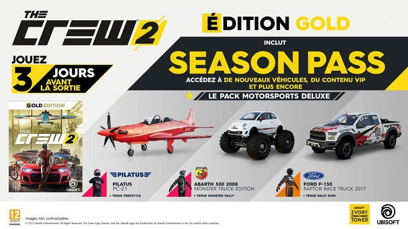 The Crew 2 Édition Gold | Jeu PS4