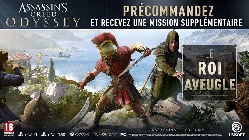 Assassin's Creed Odyssey | Bonus de précommande