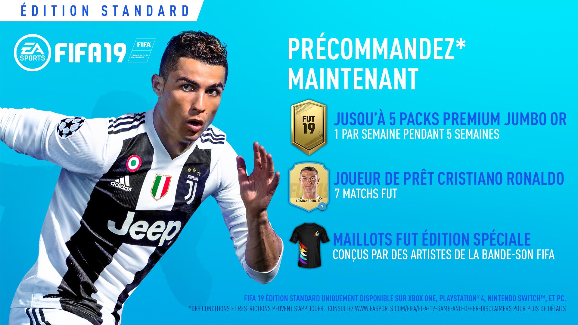 FIFA 19 Bonus précommande | Auchan