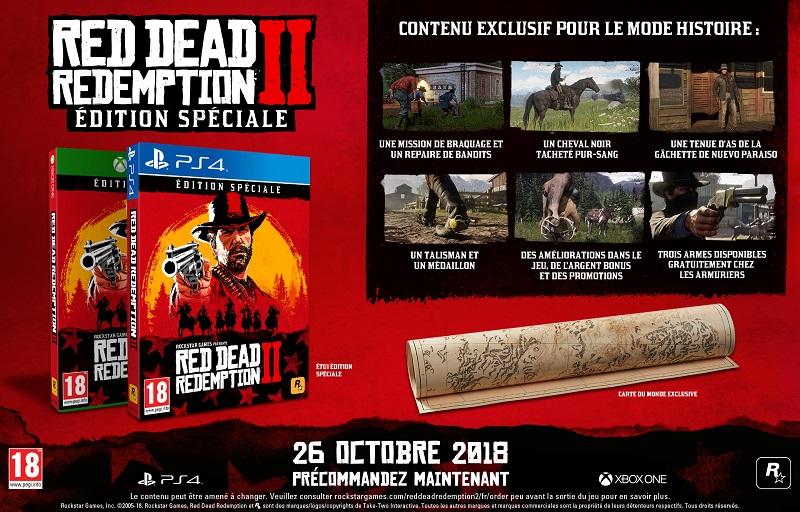 Edition spéciale Red Dead Redemption 2 | Jeu PS4