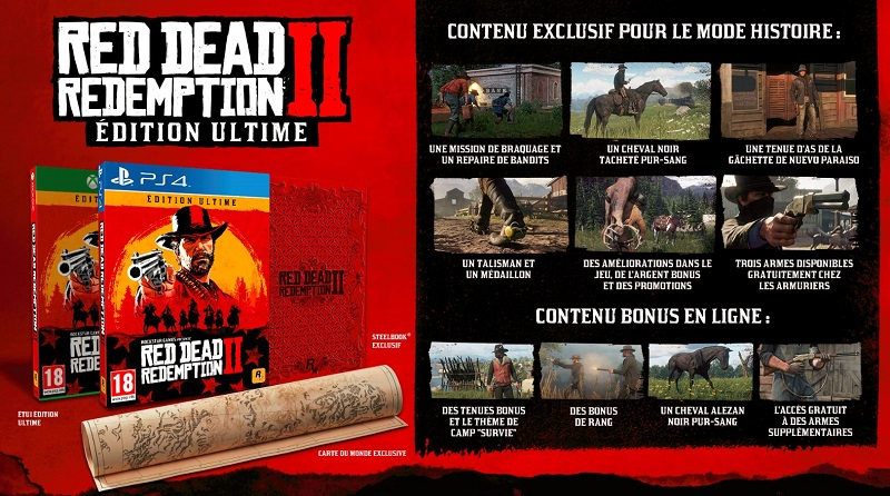 Red Dead Redemption 2 Edition ultime | Auchan