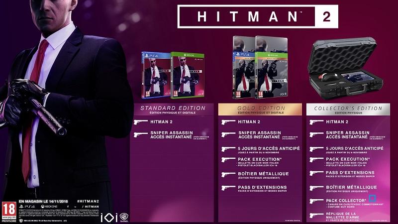 Hitman 2 Edition Gold | Auchan
