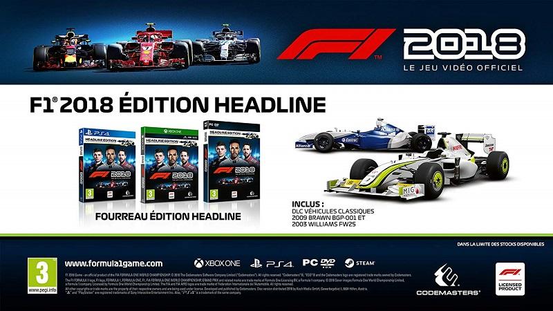 F1 2018 Headline Edition | Auchan