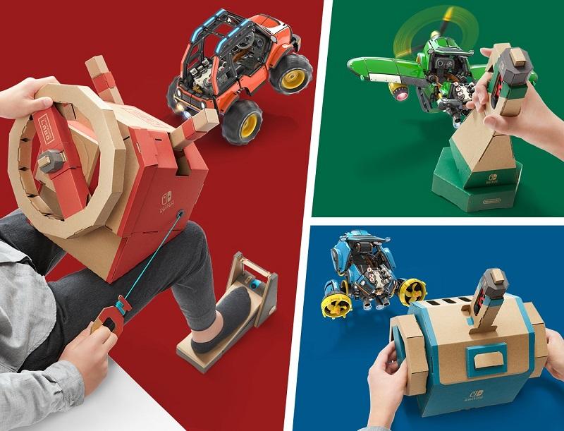 Nintendo Labo Kit Véhicules | Auchan