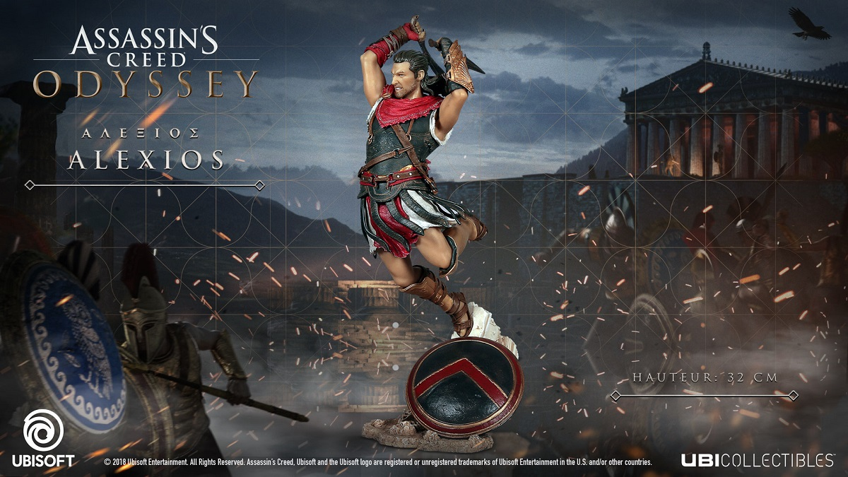 Assassin's Creed Odyssey - Figurine Alexios | Auchan