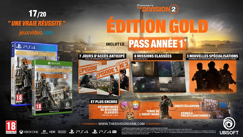 The Division 2 Edition Gold | Auchan
