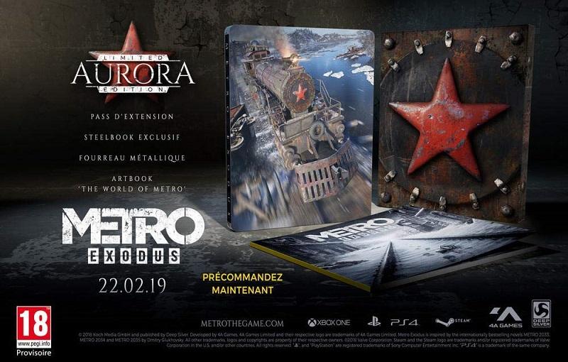 Metro Exodus Edition Aurora | Auchan