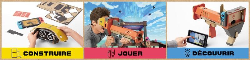 Nintendo Labo Kit VR | Auchan