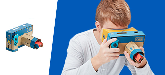 Nintendo Labo Kit VR Appareil Photo | Auchan