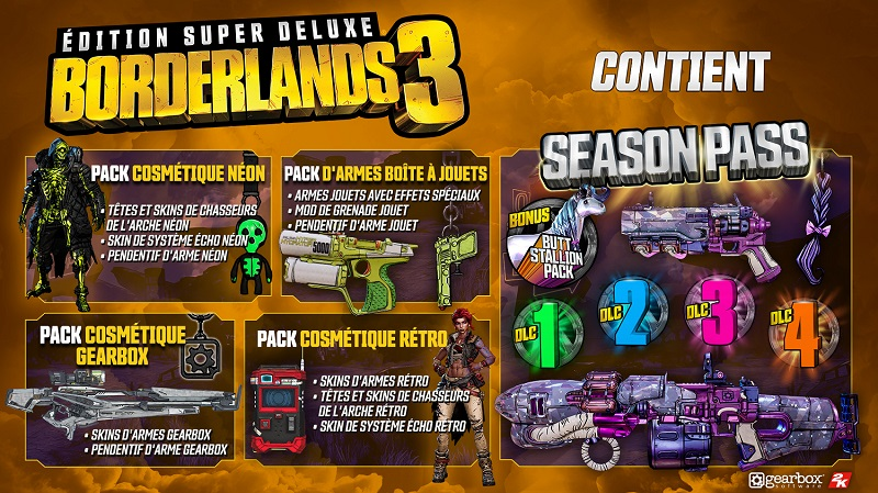 Borderlands 3 Edition Super Deluxe | Auchan