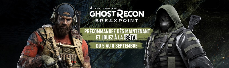 Beta Ghost Recon Breakpoint | Auchan