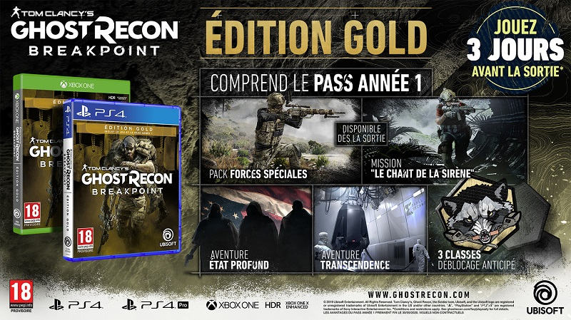 Ghost Recon Breakpoint Edition Gold | Auchan