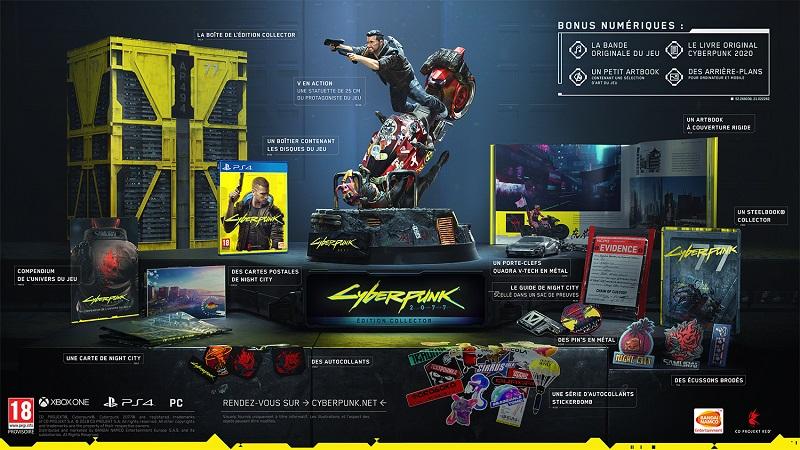 Cyberpunk 2077 PS4 Edition Collector | Auchan