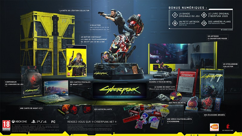 Cyberpunk 2077 PC Edition Collector | Auchan
