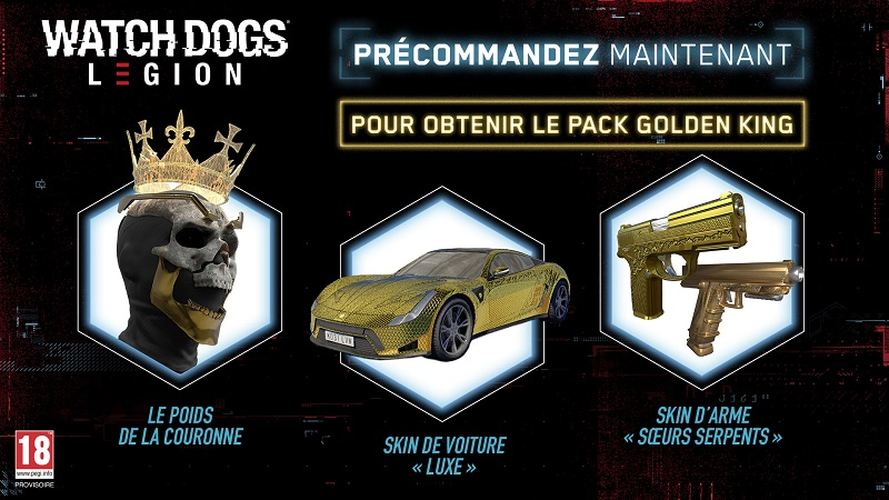 Watch Dogs Legion | Auchan