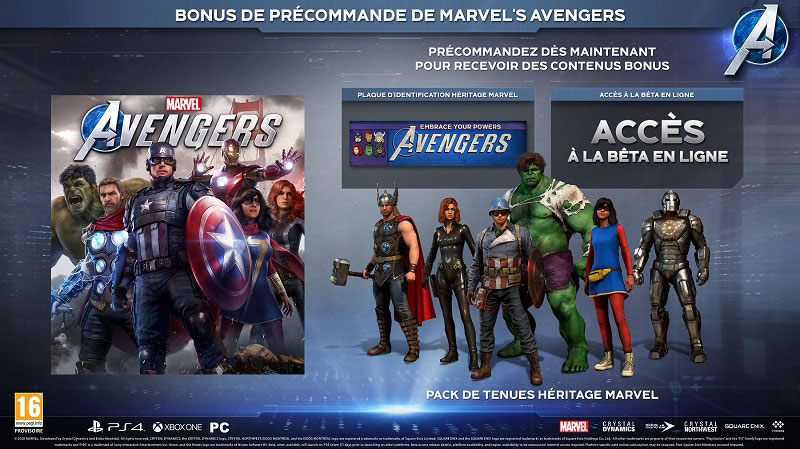 Marvel's Avengers | Auchan