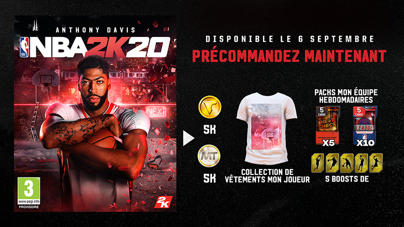 NBA 2k20 | Auchan
