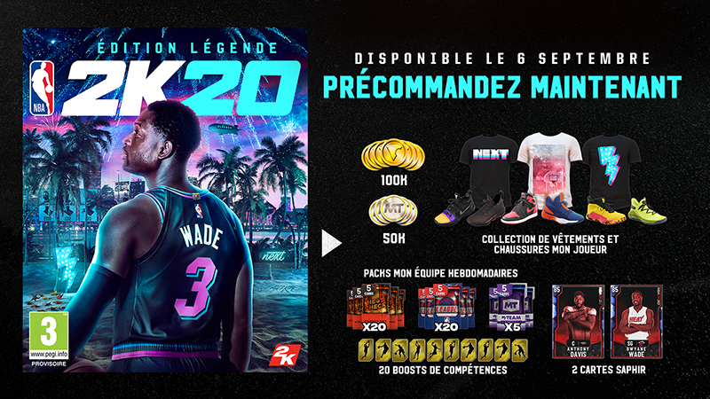 NBA 2K20 Edition Legende | Auchan
