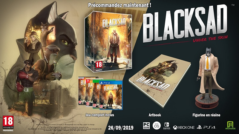BlackSad Edition Collector | Auchan