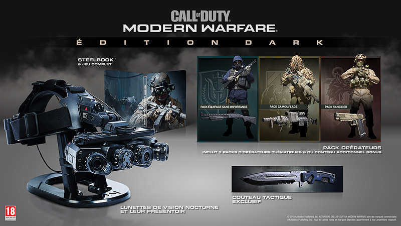 Edition Dark Call Of Duty Modern Warfare | Auchan
