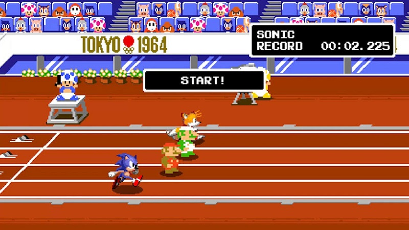 Mario Sonic Aux Jeux Olympiques Nintendo Switch