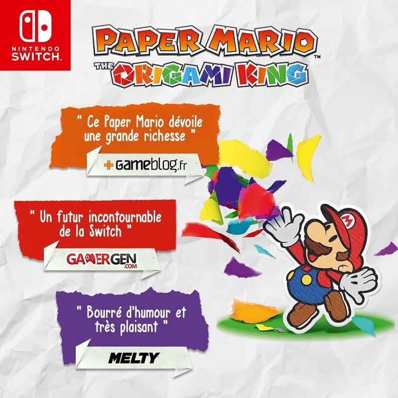 Paper Mario Nintendo Switch | Auchan