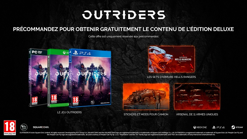 Outriders PC | Auchan