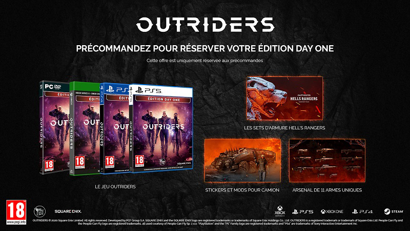 Outriders PS4 | Auchan