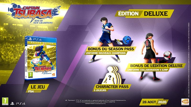 Captain Tsubasa Edition Deluxe | Auchan