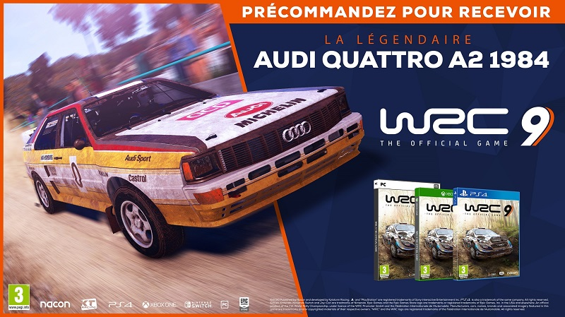 WRC 9   Auchan