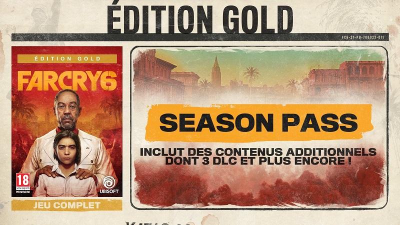 Far Cry 6 Edition Gold | Auchan