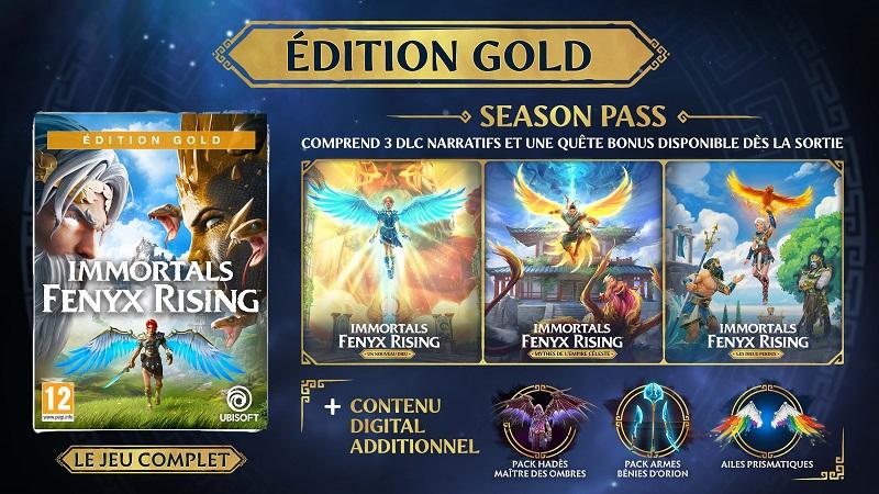 Edition Gold Immortals Fenyx Rising | Auchan