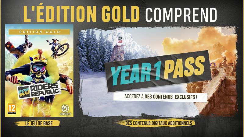 Edition Gold Riders Republic | Auchan