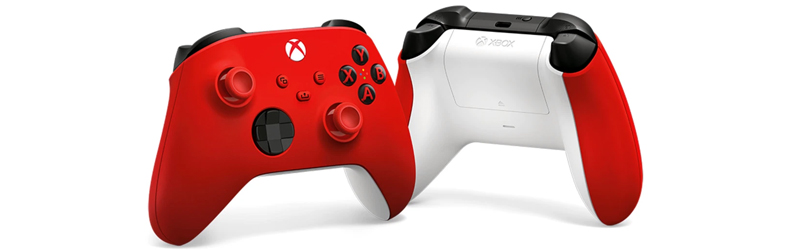 Manette Xbox sans fil Pulse Red