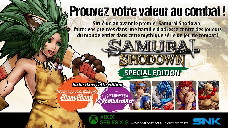Samurai Shodown Xbox | Auchan
