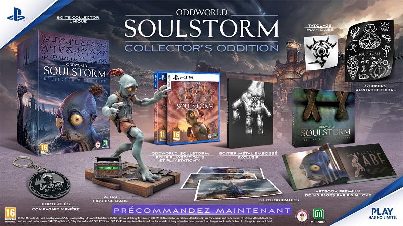 Oddition Collector Oddworld Soulstorm | Auchan