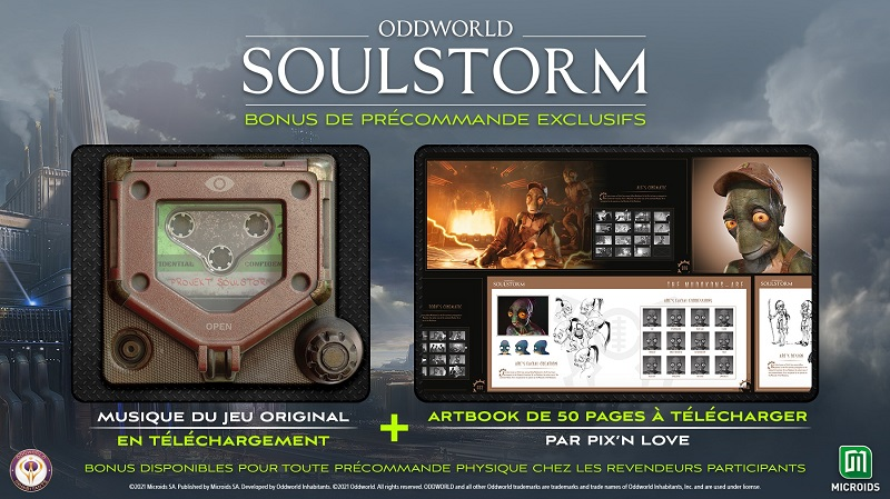 Oddworld Soulstorm Bonus précommande | Auchan
