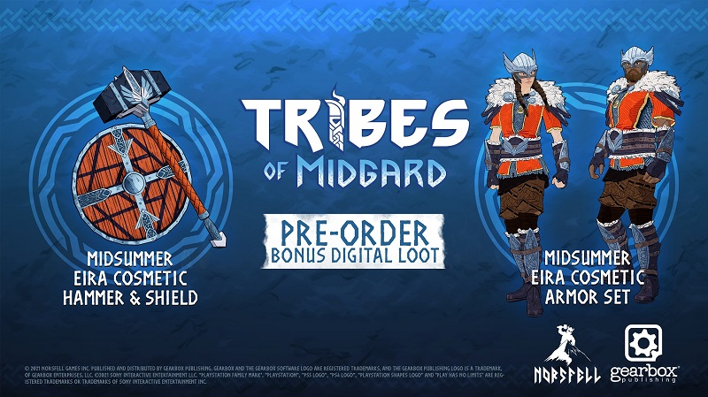 Bonus précommande Tribes of Midgard