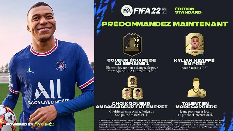 Fifa 22 Bonus précommande | Auchan