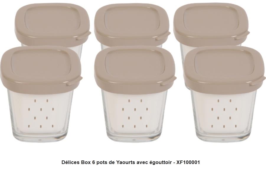 Seb pas cher prix auchan - Yaourtiere seb multi delice 6 pots ...