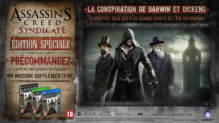 Bonus de précommande Assassin's Creed Syndicate