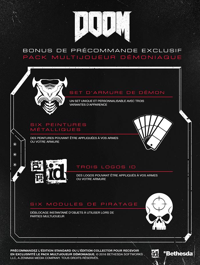 Bonus de précommande Doom 1