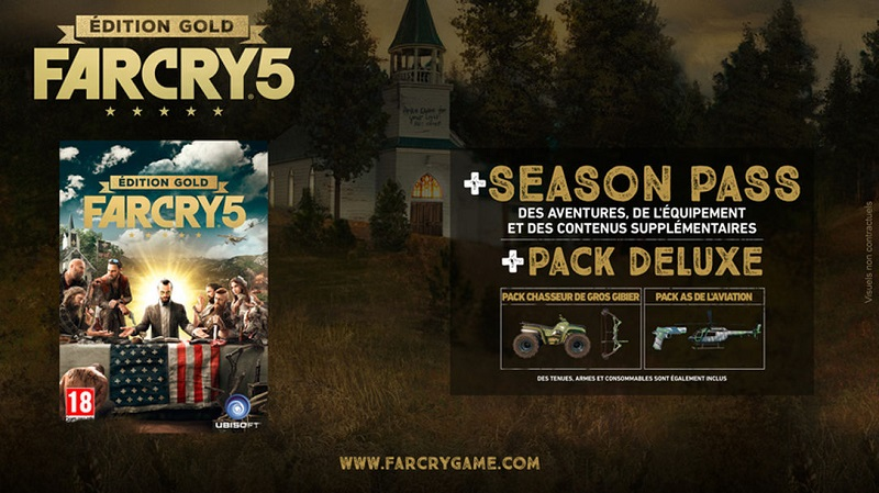 Far Cry 5 | Edition Gold PS4